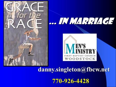 770-926-4428 … in Marriage.