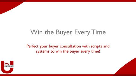 Win the Buyer Every Time