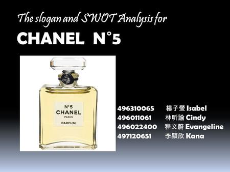 chanel no 5 swot Essays - largest database of quality sample essays and research papers on chanel no 5 swot.