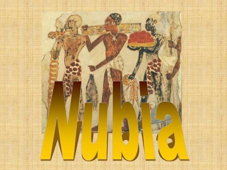 NUBIA (1000 B.C. – A.D. 150) Conquered and was conquered by Egypt Built up wide trade network Exported ivory, animal skins, gold, perfume, slaves Produced.