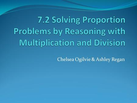 Problem Solving In Ratio And Proportion
