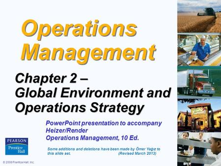 operations management chapter 4 1 1 operations management chapter 6  2 61 overview of operations management operations and their contribution to the overall strategy.