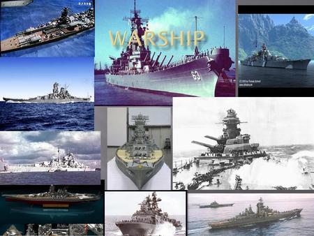  warship, any ship built or armed for naval combat. The forerunners of the modern warship were the men-of-war of the 18th and early 19th cent., such.