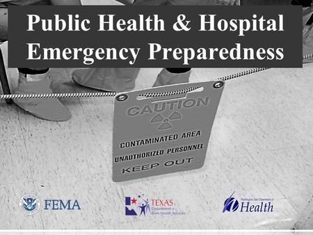 Presenter's Name June 17, 2003 Public Health & Hospital Emergency Preparedness.