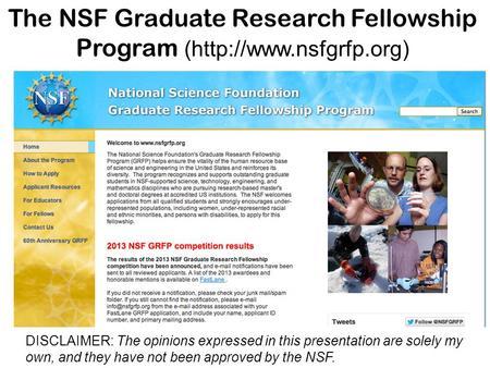 Nsf grfp research proposal essay