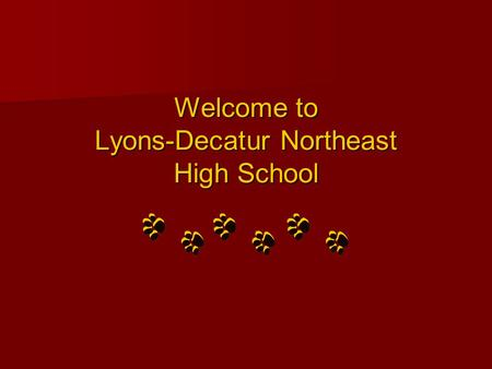 Welcome to Lyons-Decatur Northeast High School Northeast.
