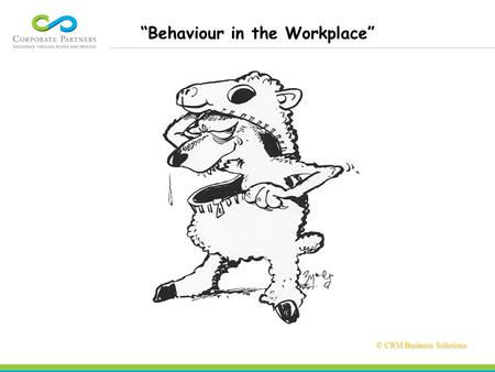 "© CRM Business Solutions © CRM Business Solutions ""Behaviour in the Workplace"""