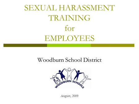 Facts About Sexual Harassment - EEOC Home Page