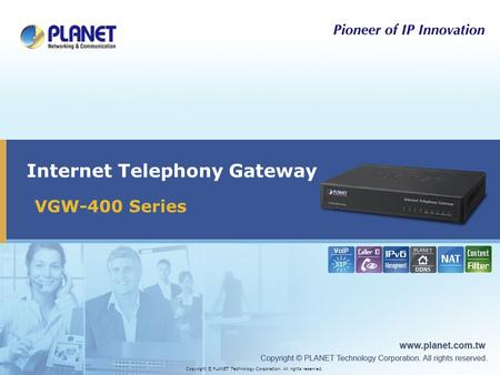 Internet Telephony Gateway
