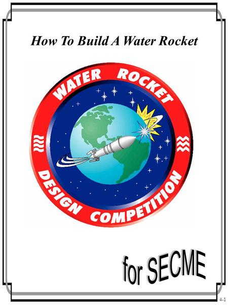 How To Build A Water Rocket