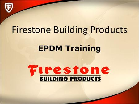 Firestone Building Products EPDM Training. Membrane Attachment.