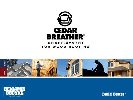 Underlayment for Wood Roofing 4 Recommended Methods of Installation on Solid Sheathing Cedar Shake & Shingle Bureau 1.Use treated shakes or shingles.