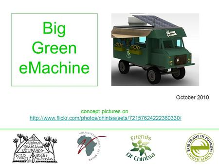 Big Green eMachine concept pictures on