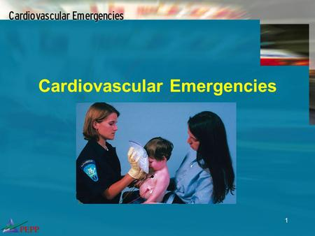 1 Cardiovascular Emergencies. 2 Objectives Differentiate shock from hypotension Distinguish compensated from decompensated shock Outline appropriate shock.