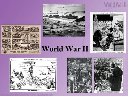 World War II. Table of Contents Appeasement The Molotov-Ribbentrop pact The Battle of Britain The Invasion of Normandy The Bombing of Dresden.
