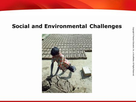 Social and Environmental Challenges