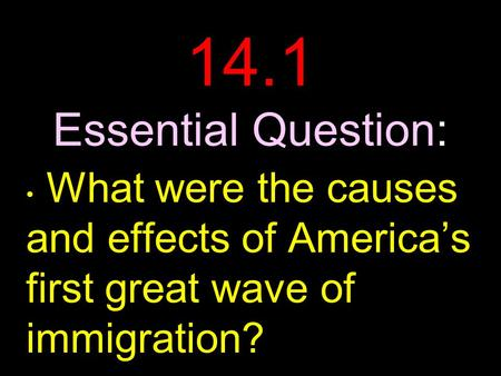 immigration in america: cause and effects essay The effects of illegal immigration illegal immigration is defined as the act of someone staying in a given country without the country's official permission this happens when one illegally enters a given country, or overstays upon expiry of a visa.