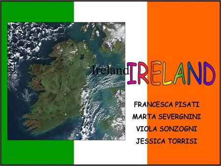 Ireland. Ireland is the second largest isle of the British Isles, in the North Atlantic Ocean; it's all surrounded by the sea and its coasts are indented.