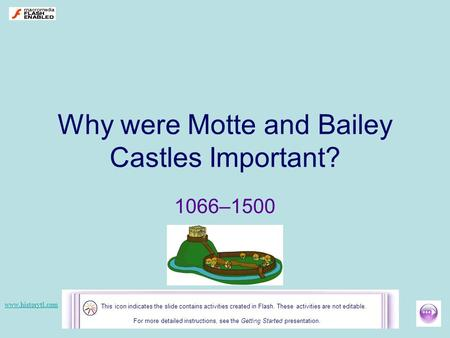 Why were Motte and Bailey Castles Important?