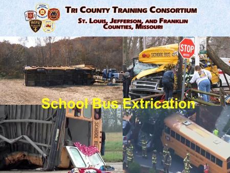 School Bus Extrication. Thorough Size-Up Initiate ICS MCI Response Request additional resources –Pumpers –Ambulances –Heavy rescue –PIO –School Rep. –PD.