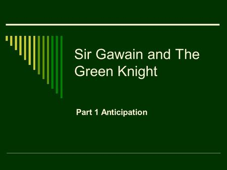 a critical analysis of sir gawain and the green knight by the pearl poet Analysis of the poems, and anyone seeking a good grounding in reading middle english is encouraged to draw anderson (ed), sir gawain and the green knight, pearl, cleanness, patience (everyman, 1996) this is a spearing, ac, the gawain poet: a critical study (cambridge: cambridge university press 1970.