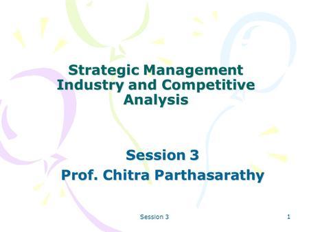 Strategic management competitor analysis of ryanair