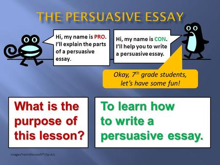 purpose of a persuasive essay What is the purpose of a persuasive essay to provide information to readers to convince the audience of a certain viewpoint to paint a picture in words - 922547.