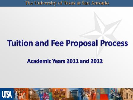 2 Biennial process for setting deregulated tuition and mandatory fees initiated by the Board of Regents Rates are set for a two year period covering Academic.