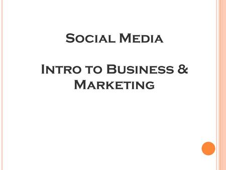 Social Media Intro to Business & Marketing. The most three most trusted forms of advertising are: Recommendations from people I know - 90% Consumer opinions.