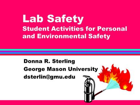 Lab Safety Student Activities for Personal and Environmental Safety