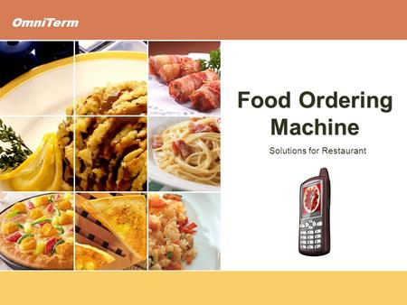 OmniTerm Solutions for Restaurant Food Ordering Machine.