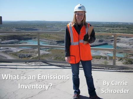 What is an Emissions Inventory?