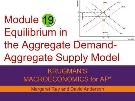 Module Equilibrium in the Aggregate Demand- Aggregate Supply Model