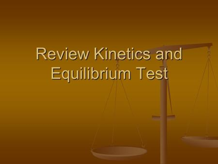 Review Kinetics and Equilibrium Test. Which will occur if a catalyst is added to a rxn mixture? 1. Only the rate of the reverse reaction will increase.