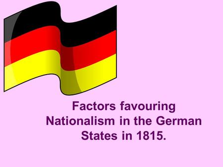 factors of nationalism