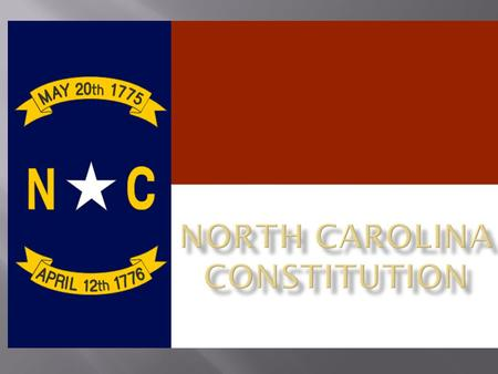  We, the people of the State of North Carolina, grateful to Almighty God, the Sovereign Ruler of Nations, for the preservation of the American Union.