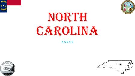 North Carolina XXXXX. North Carolina Population: 9,848,060 people Nick Name: Tar Heel State Capitol: Raleigh State Tree: Long Leaf Pine State Flower:
