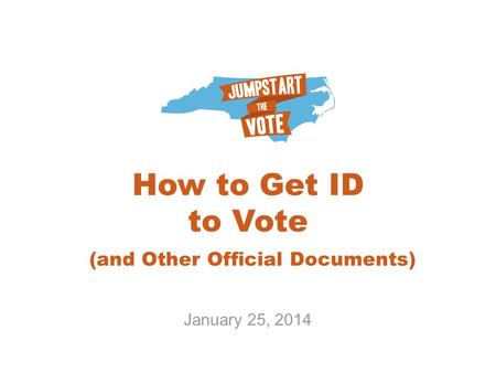 How to Get ID to Vote (and Other Official Documents)