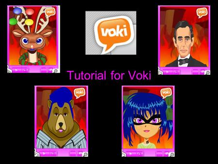 Tutorial for Voki. Log into Voki. Then click on Create a Voki.