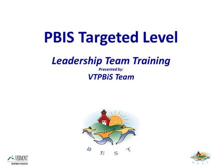 Leadership Team Training