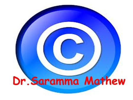 Dr.Saramma Mathew. copyright All rights reserved.