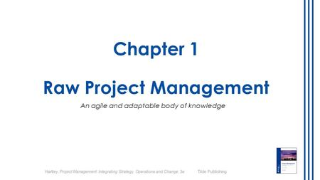 Chapter 1 Raw Project Management