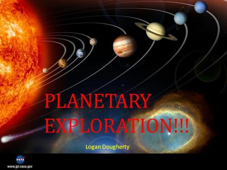 PLANETARY EXPLORATION!!! Logan Dougherty. Quick Overview Mariner 2 – First successful Venus flyby (USA) Mariner 4 – First successful Mars flyby (USA)