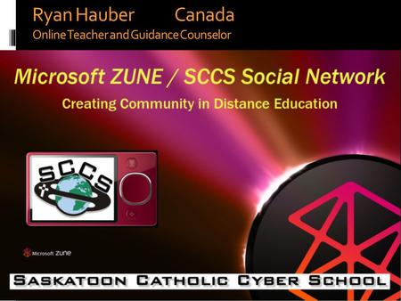 Ryan Hauber Canada Online Teacher and Guidance Counselor.