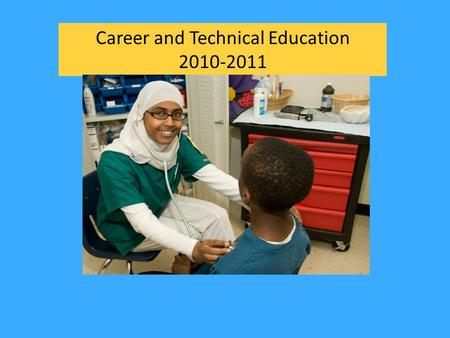Career and Technical Education 2010-2011. Program Areas Business and Information Technology Family and Consumer Sciences Health and Medical Sciences Marketing.
