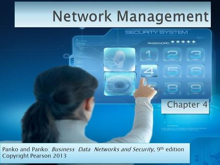 Network Management Chapter 4