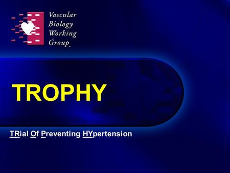 TROPHY TRial Of Preventing HYpertension. High-normal BP increases CV risk Vasan RS et al. N Engl J Med. 2001;345:1291-7. Incidence of CV events in women.
