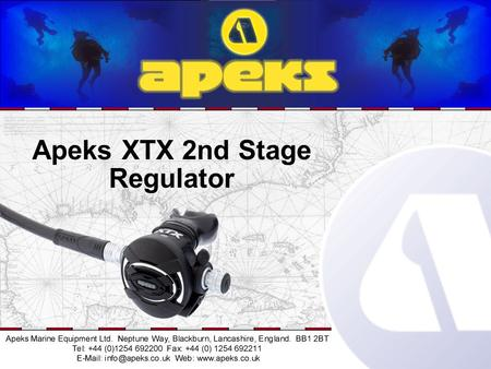 Apeks XTX 2nd Stage Regulator