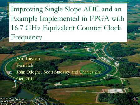 Improving Single Slope ADC and an Example Implemented in FPGA with 16