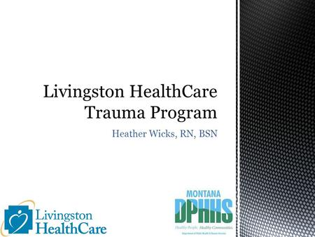 Heather Wicks, RN, BSN. Part I: Program Overview Leaders in trauma program Trauma activation Components of trauma program Part II: Improvement Activities.